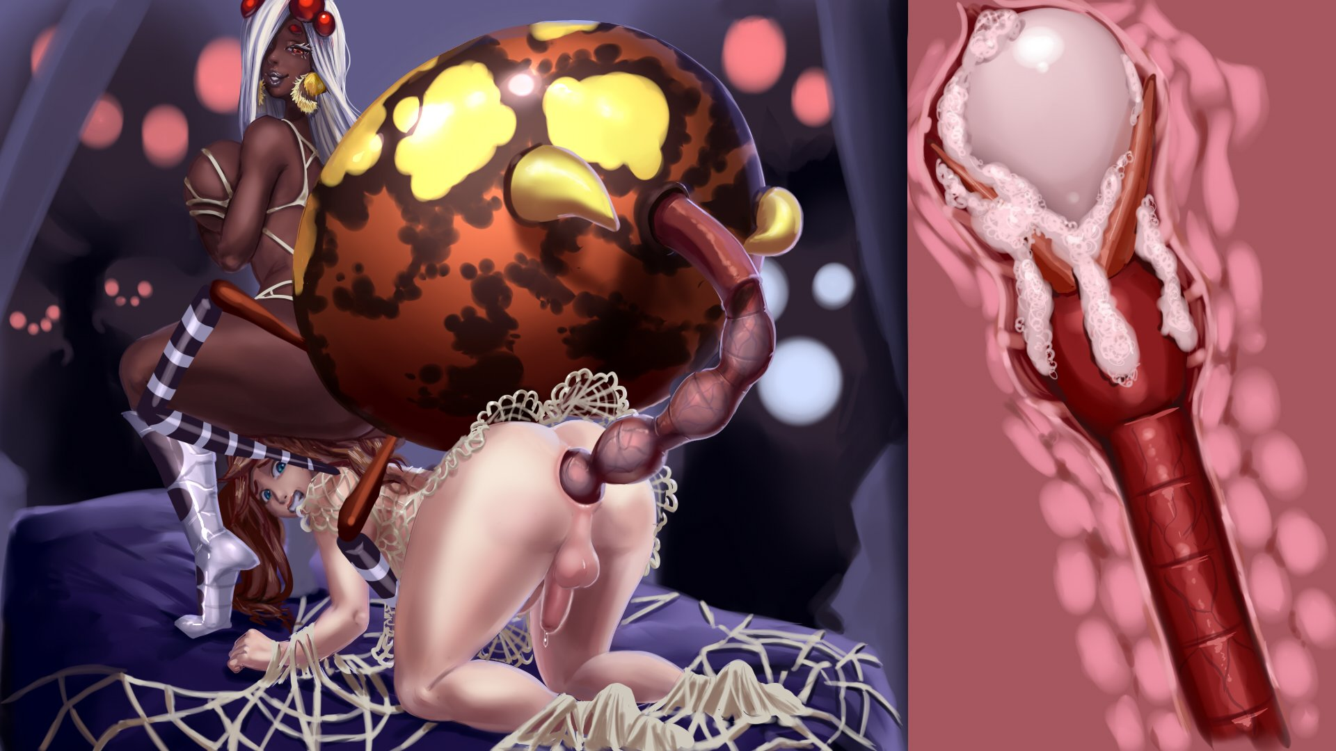 Egg insertion porn male furry tentacle porn rule anal sex anthro anus balls big