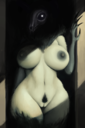 1girls 2018 abs anthro areolae belly big_breasts big_hands black_sclera bone breasts canine claws creepy digital_media fangs female female_only fur furry glowing glowing_eyes green_fur huge_breasts humanoid ikiki large_breasts looking_at_viewer mammal monster monstrous_humanoid naked nightmare_waifu nipples nude pubic_hair pussy scary_waifu scp-1471 scp_containment_breach scp_foundation skull solo standing thicc thick_thighs white_eyes wide_hips