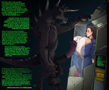 against_glass anthro anthrofied bodysuit breasts breasts_against_glass breasts_on_glass brown_hair bursting_breasts cleavage clothed comic cryogeny cum deathclaw erection experiment fallout fallout_4 female flared_penis full_cleavage helpless highres horror horsecock hud huge_breasts huge_cock huge_penis huge_testicles human hyper hyper_breasts hyper_penis hyper_testicles imminent_paizuri imminent_rape interspecies jumpsuit larger_male machine male monitor monster naked nude penis precum scary size_difference sleeping smaller_female small_but_busty sole_survivor sparrow standing story straight tail teeth testicles text thicc thick_thighs vault_suit veins veiny_penis veiny_testicles wet wide_hips yellow_eyes