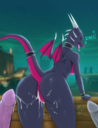 absurd_res activision anthro anus ass bodily_fluids breasts cum cum_inside cum_in_pussy cynder detailed_background dialogue dragon english_text female female_focus genitals genital_fluids group hi_res long_tail looking_at_viewer looking_back male membrane membranous_wings multicolored_body multicolored_scales naked nude open_mouth pink_body pink_scales pink_tail pink_wings purple_body purple_scales purple_tail purple_wings pussy raised_tail rear_view reptile scales scalie small_wings solo_focus spyro_the_dragon text tongue two_tone_body two_tone_scales two_tone_tail two_tone_wings unrealcereal video_games wings