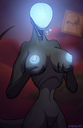1girls 2019 4_fingers anthro anthrofied areolae belly bioluminescence black_skin breasts claws female glowing heart hi_res holding_breast huge_breasts keadonger looking_at_viewer monster naked navel nightmare_waifu nipples no_eyes nude pussy reptile ribs scalie scary_waifu scp-745 scp_foundation smile solo standing tail teeth text thicc thick_thighs thin_waist tongue tongue_out