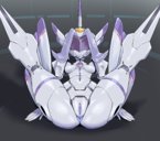 1girls absurdres anus areolae ass breasts chlorophytum clitoris darling_in_the_franxx female folded forehead_jewel highres high_resolution hybrid legs_up looking_at_viewer lying naughty_face nipples no_eyes on_back pale-skinned_female pale_skin plump_labia pochincoff purple_anus purple_hair purple_nipples purple_pussy pussy robot robot_girl small_breasts smile spread_legs uncensored