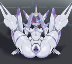 1girls absurdres anus areolae ass blue_eye blush breasts cervix chlorophytum clitoris darling_in_the_franxx female folded forehead_jewel gaping gaping_pussy highres high_resolution hybrid invisible_penis legs_up looking_at_viewer lying naughty_face nipples one-eyed on_back pale-skinned_female pale_skin penetration penis plump_labia pochincoff purple_anus purple_hair purple_nipples purple_pussy pussy robot robot_girl sex small_breasts smile spread_legs uncensored vaginal_penetration