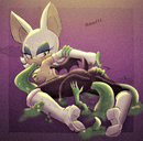 anthro elbow_gloves female ghost gloves hearlesssoul highres hi_res madpixel possession rouge_the_bat solo sonic spirit tentacle tentacle_sex